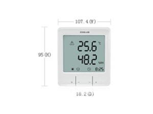 Intelligent temperature and humidity meter