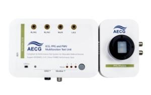 AECG100 wearable device test